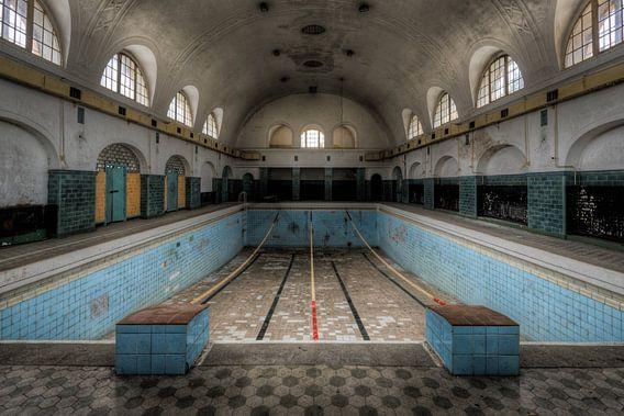 Zwembad van Perry Wiertz