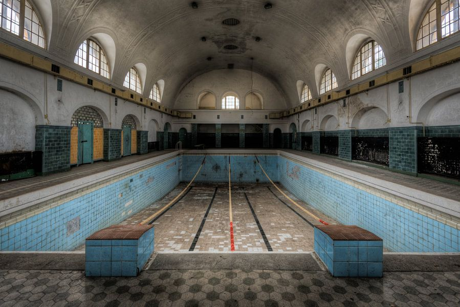 Wedstrijd Zwembad van Perry Wiertz