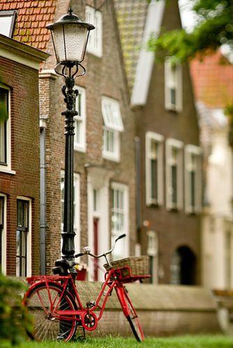 Rode fiets, Muiden