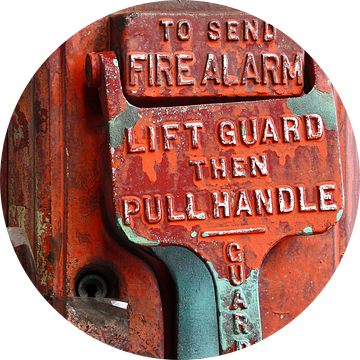 new york city ... fire alarm van Meleah Fotografie