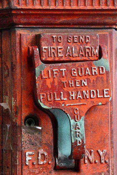 new york city ... fire alarm von Meleah Fotografie