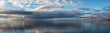 Panorama Waddenzee van Johan Habing
