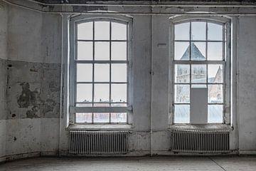 Van Heutsz kazerne schoolgebouw in Kampen van Sjoerd van der Wal