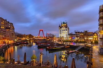 Oude Haven Rotterdam van Peet de Rouw
