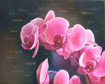 Orchidee von Larysa Golik