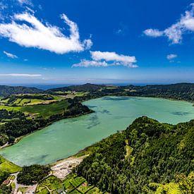 Lagoa das Furnas (Azoren) van Easycopters