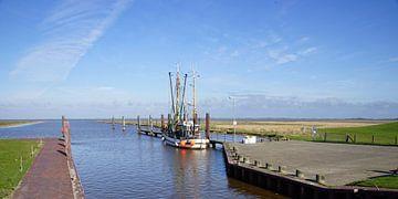 Cotre de pêche dans l'écluse de Varel sur Andreas Wemmje