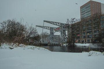 Winter im Piushaven von Freddie de Roeck
