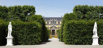 Grote tuin, Herrrenhausen, Golden Gate, Galerie, Galeriegebouw, Hannover, Nedersaksen, Duitsland, Eu van Torsten Krüger
