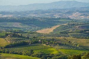 Het sprookjesachtige Toscane in Italië van