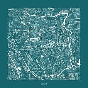 Utrecht in straatnamen en bezienswaardigheden van Vol van Kleur