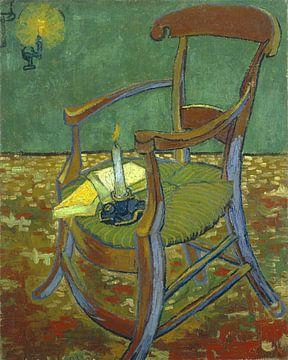 Vincent van Gogh. De stoel van Gauguin