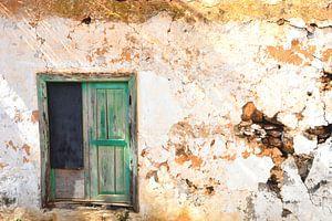 Oude deur van