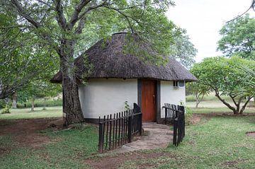 een rondavel in afrika von