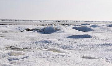 Winter op Terschelling van Sjoukje Hamstra-Bouma