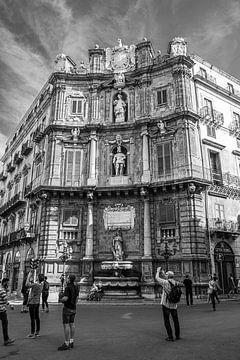 Quattro Canti, Palerme, Sicile sur Vincent de Moor