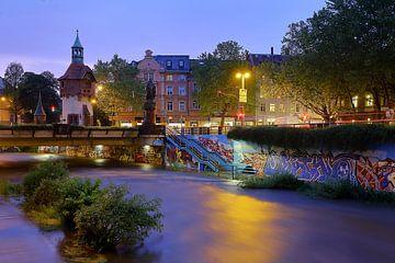 Dreisamfluss Freiburg von Patrick Lohmüller