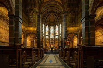 Innenraum St. Nikolaus Basilika Amsterdam von Foto Amsterdam / Peter Bartelings