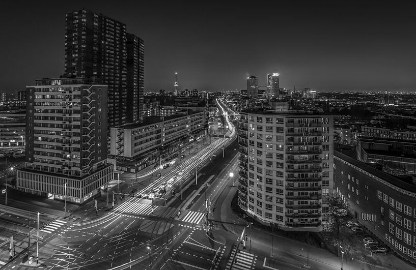 Westzeedijk in Rotterdam van MS Fotografie   Marc van der Stelt