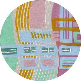 Serie RONDO - Golvend van ART Eva Maria