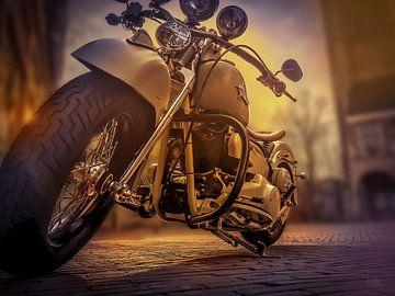 Harley Davidson van Thom Bouman