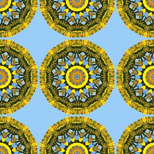 Flower-Mandala, Sunflower Pattern