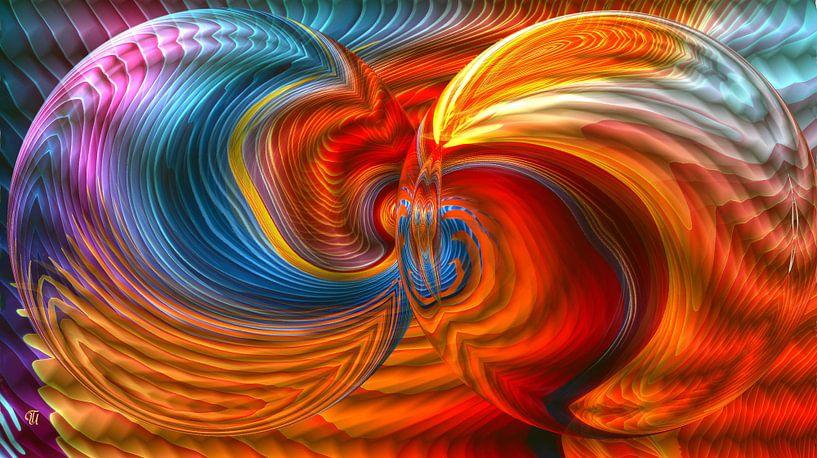 abstrakt und kugelig ... van Thea Ulrich / UtheasArt