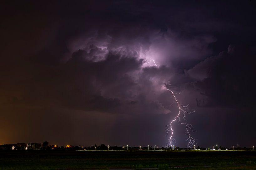 Onweer in Nederland van Eus Driessen