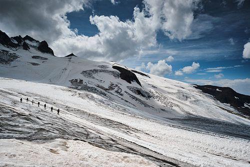 Gletsjer Glacier de la Girose van
