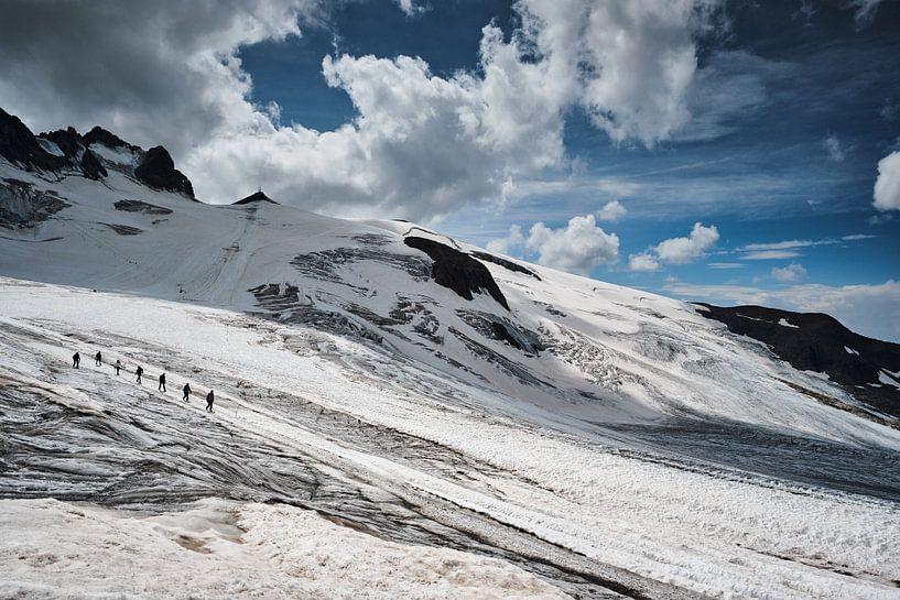 Gletsjer Glacier de la Girose van Jef Folkerts
