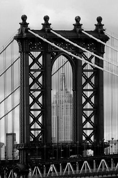 new york city ... manhattan bridge trilogy II von Meleah Fotografie
