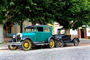 Oldtimer-Autos in Uruguay von Erwin Blekkenhorst
