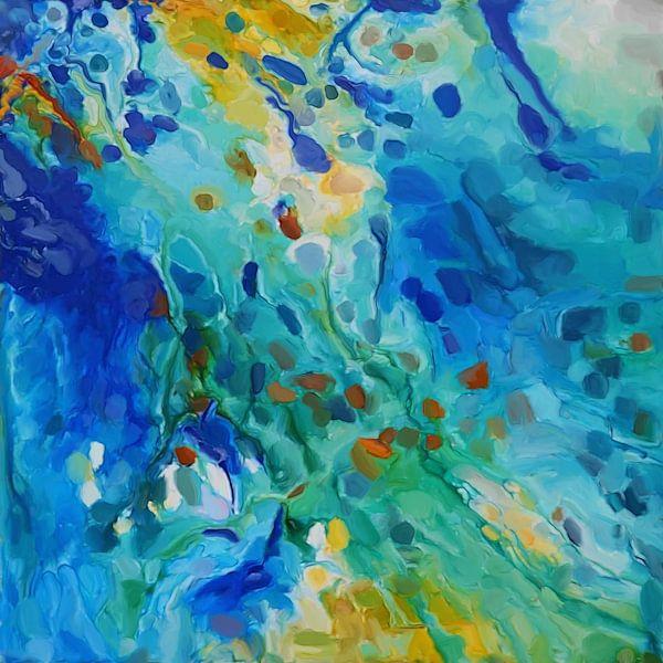 Composition abstraite 575 van Angel Estevez