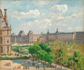 Place du Carrousel, Paris, Camille Pissarro