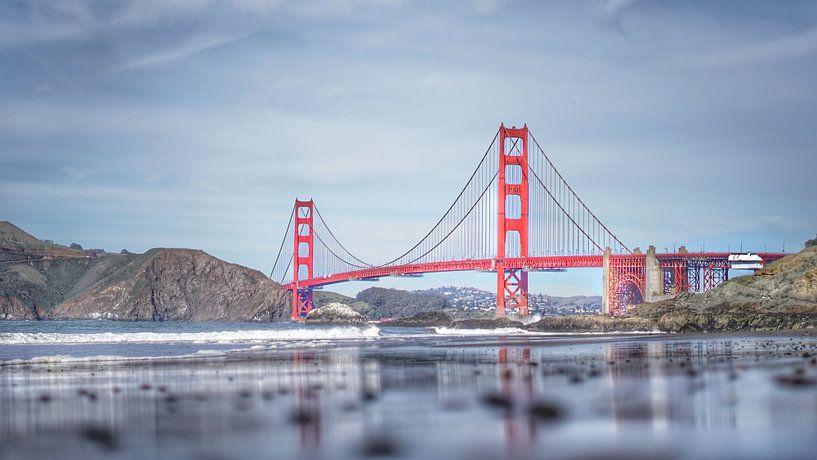 Die Golden Gate Bridge, San Francisco, Vereinigte Staaten von Joost Jongeneel