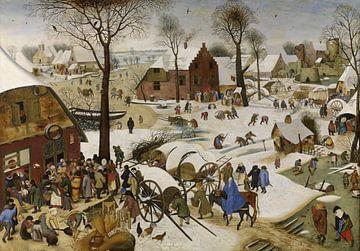 Die Volkszählung zu Bethlehem, Pieter Brueghel der Jüngere