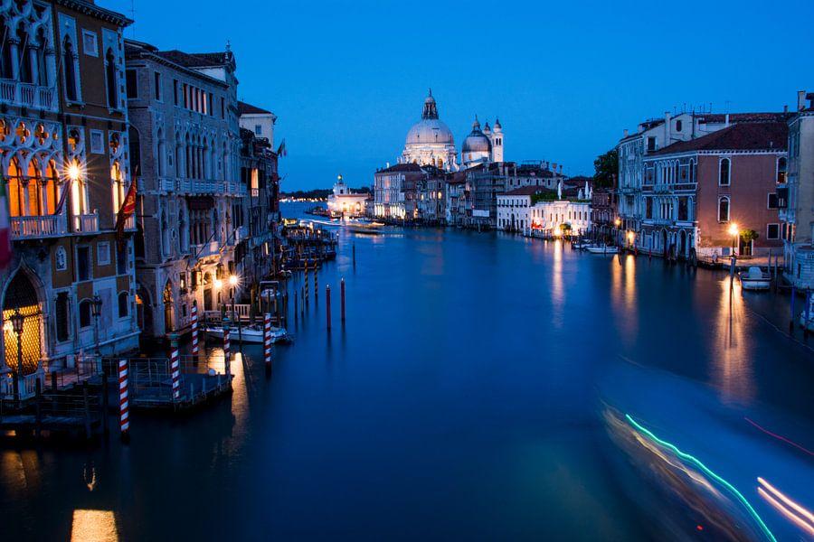 Venetië - nachtfoto - Grand Canal