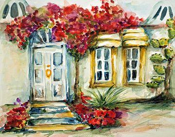 Huis in de Algarve. van Ineke de Rijk
