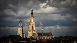 Grote Kerk - Breda - Nord-Brabant - Niederlande von I Love Breda
