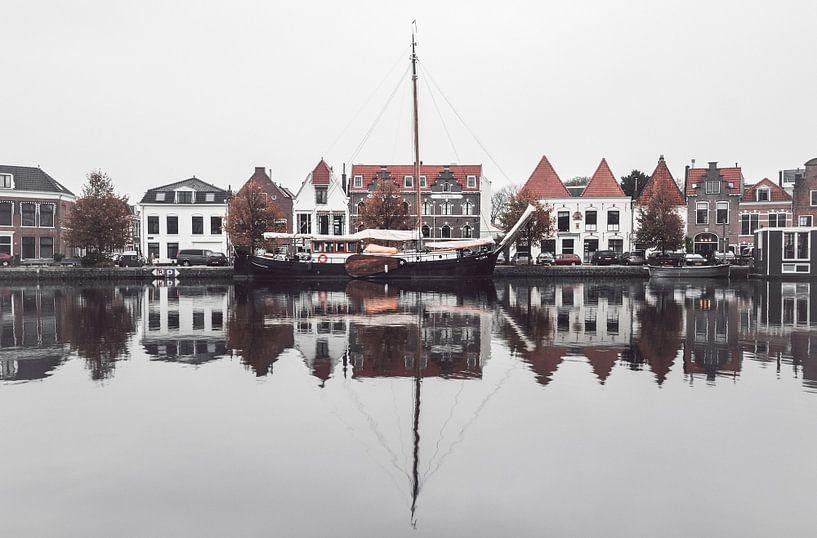 Haarlem: Spaarne reflecties. von Olaf Kramer
