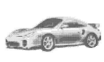 Porsche 911 Kunst von Jessica Berendsen