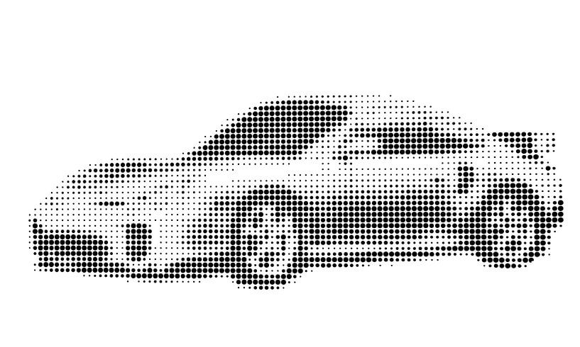 Porsche 911 Art van Jessica Berendsen