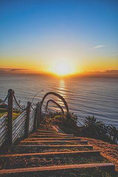 Sonnenuntergang auf Madeira von Nadine Rall