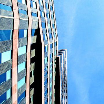 Abstracte architectuur Blaak sur Sigrid Klop