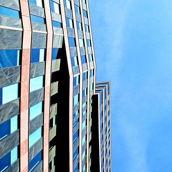 Abstracte architectuur Blaak