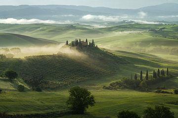 De Toscaanse droom van Edwin Mooijaart