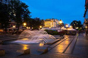 Belgrad bei Nacht van Bojan Radisavljevic