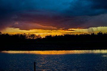 Zonsondergang van Lavieren Photography