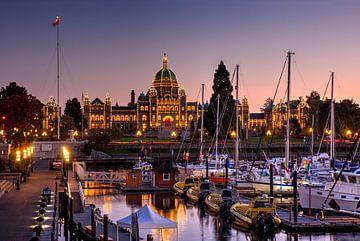 Avond in Victoria, Canada van Adelheid Smitt