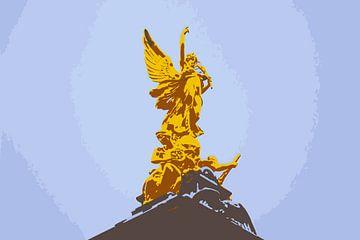 Buckingham Palace: beeld van Morena 68